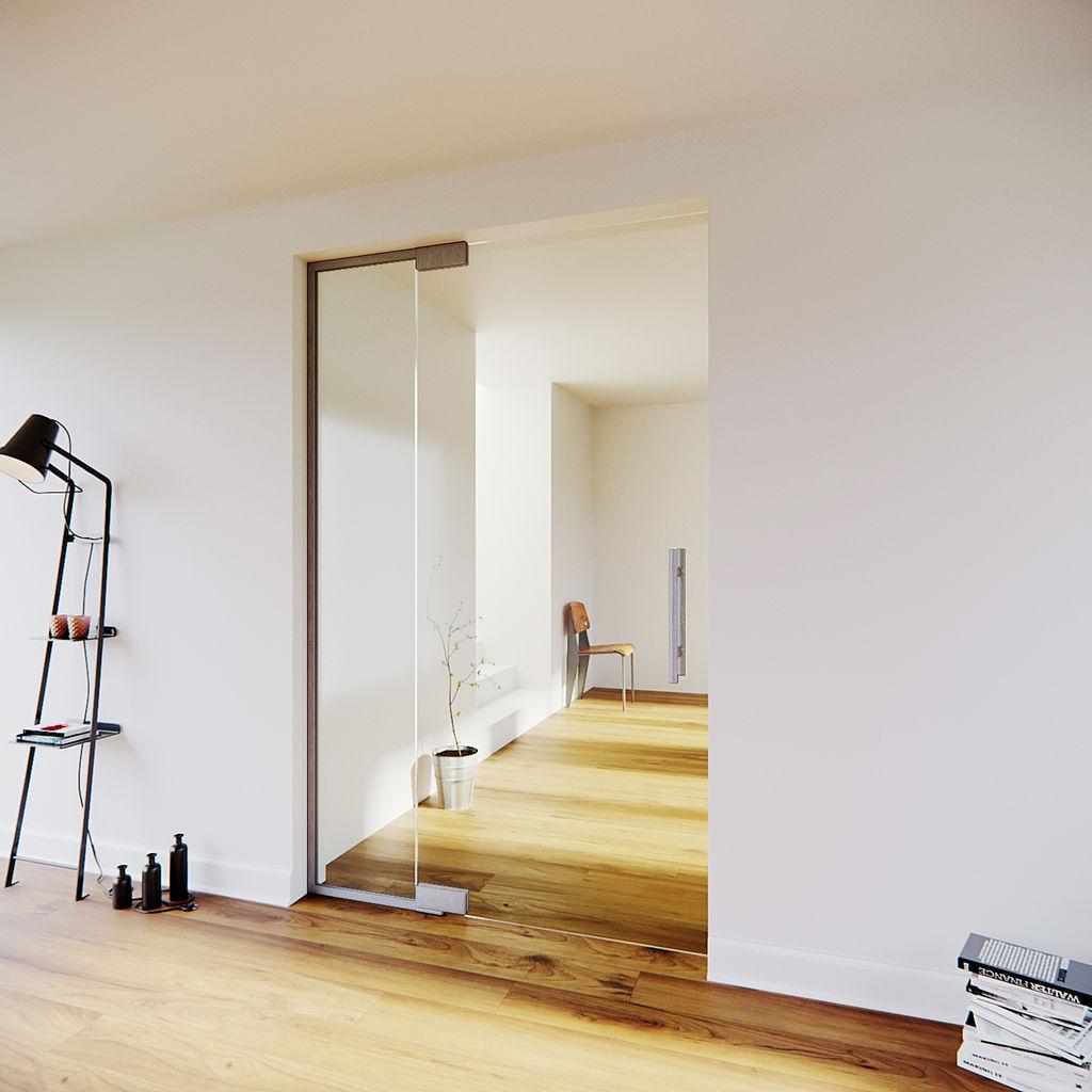 Glazen taatsdeur met zijpaneel