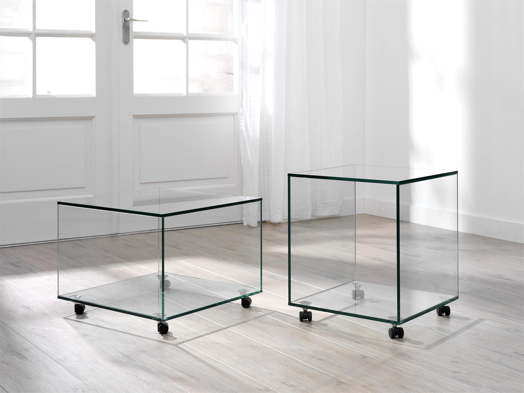 Mooie Glazen Bijzettafels.Glazen Bijzettafel Vidre Glastoepassingen