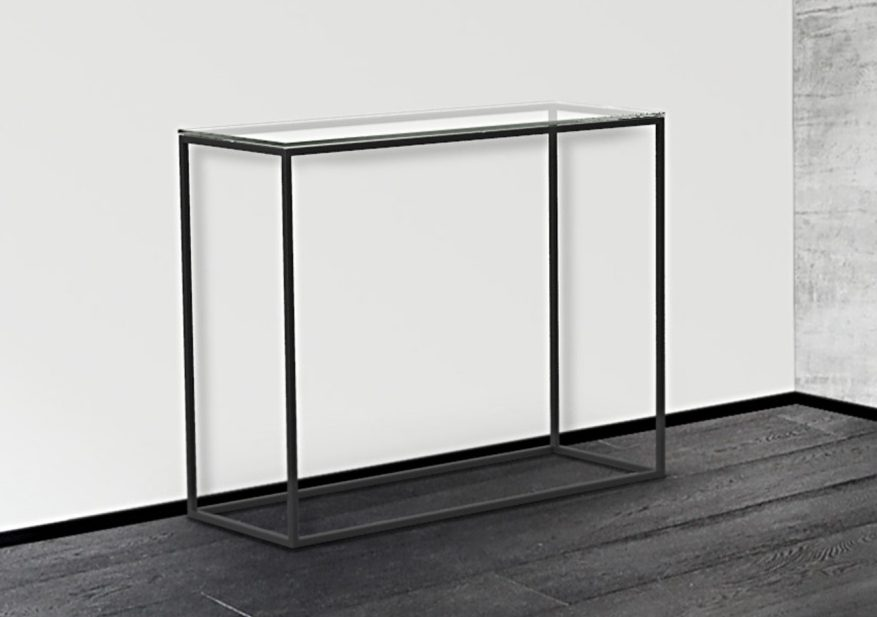 Sidetable Met Glas.Glazen Side Table Vidre Glastoepassingen