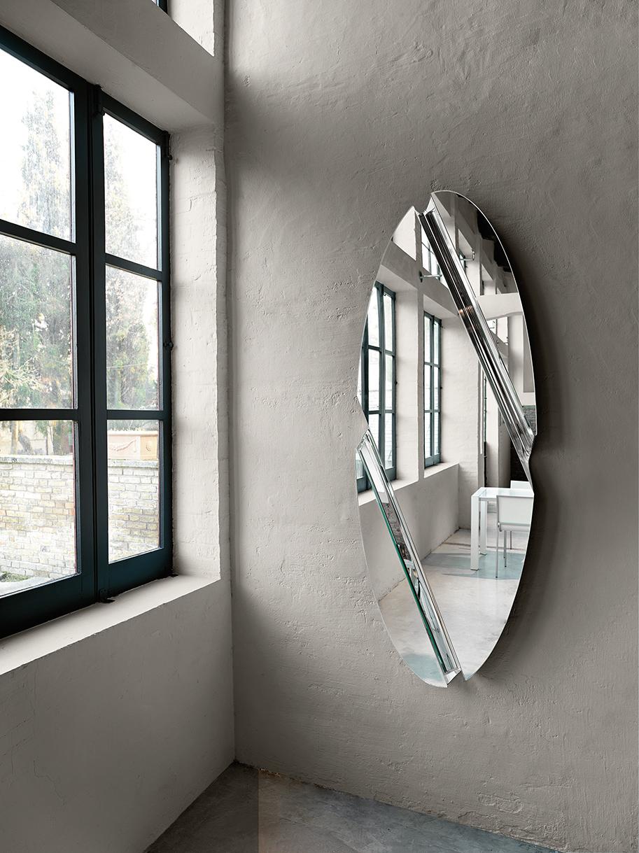 FIAM design spiegel Wing 180x65 design by Daniel Libeskind